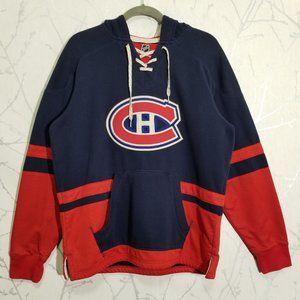 CCM NHL Montreal Canadiens Pullover Hoodie